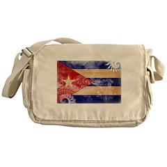 Cuba Flag Messenger Bag
