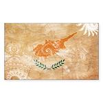 Cyprus Flag Sticker (Rectangle)