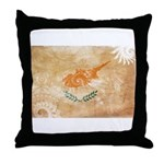 Cyprus Flag Throw Pillow