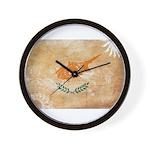 Cyprus Flag Wall Clock