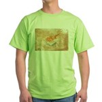 Cyprus Flag Green T-Shirt