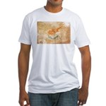 Cyprus Flag Fitted T-Shirt
