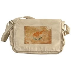 Cyprus Flag Messenger Bag