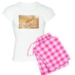 Cyprus Flag Women's Light Pajamas