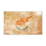 Cyprus Flag 22x14 Wall Peel