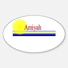 Amiyah Oval Decal