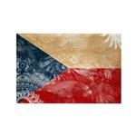 Czech Republic Flag Rectangle Magnet