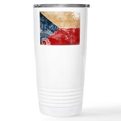 Czech Republic Flag Travel Mug