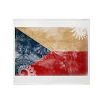 Czech Republic Flag Throw Blanket