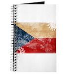 Czech Republic Flag Journal