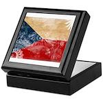Czech Republic Flag Keepsake Box