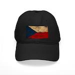Czech Republic Flag Black Cap