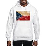 Czech Republic Flag Hooded Sweatshirt