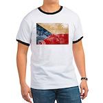 Czech Republic Flag Ringer T