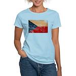 Czech Republic Flag Women's Light T-Shirt