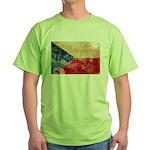 Czech Republic Flag Green T-Shirt