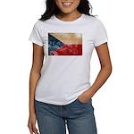 Czech Republic Flag Women's T-Shirt
