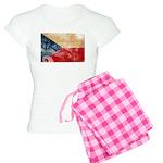 Czech Republic Flag Women's Light Pajamas