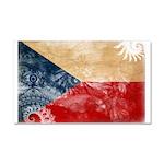 Czech Republic Flag Car Magnet 20 x 12