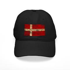 Denmark Flag Baseball Hat