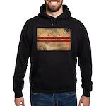 District of Columbia Flag Hoodie (dark)