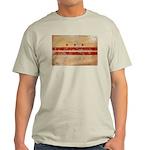 District of Columbia Flag Light T-Shirt