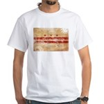 District of Columbia Flag White T-Shirt
