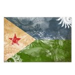 Djibouti Flag Postcards (Package of 8)