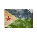 Djibouti Flag Rectangle Magnet (100 pack)