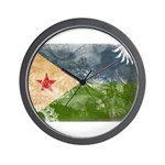 Djibouti Flag Wall Clock