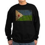 Djibouti Flag Sweatshirt (dark)