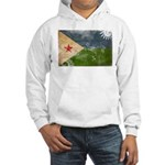 Djibouti Flag Hooded Sweatshirt