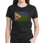 Djibouti Flag Women's Dark T-Shirt