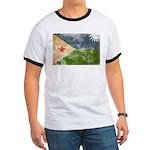 Djibouti Flag Ringer T