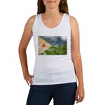 Djibouti Flag Women's Tank Top