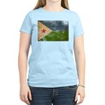 Djibouti Flag Women's Light T-Shirt