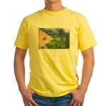 Djibouti Flag Yellow T-Shirt
