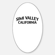 Simi Valley California Decal