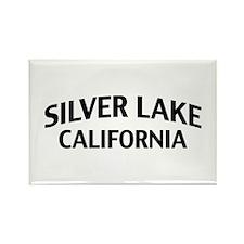 Silver Lake California Rectangle Magnet