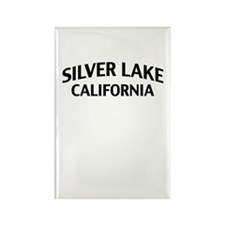 Silver Lake California Rectangle Magnet