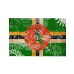 Dominica Flag Rectangle Magnet (10 pack)