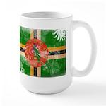 Dominica Flag Large Mug