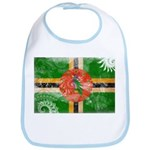 Dominica Flag Bib