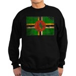 Dominica Flag Sweatshirt (dark)