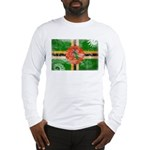 Dominica Flag Long Sleeve T-Shirt
