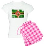 Dominica Flag Women's Light Pajamas