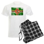 Dominica Flag Men's Light Pajamas