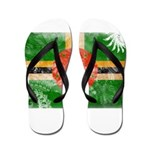 Dominica Flag Flip Flops