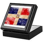 Dominican Republic Flag Keepsake Box