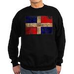 Dominican Republic Flag Sweatshirt (dark)